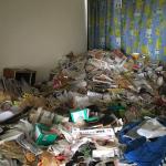 2階建てアパートの特殊清掃